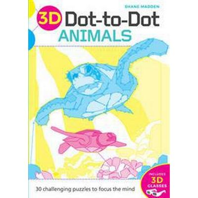 3D Dot-to-Dot: Animals (Häftad, 2016)