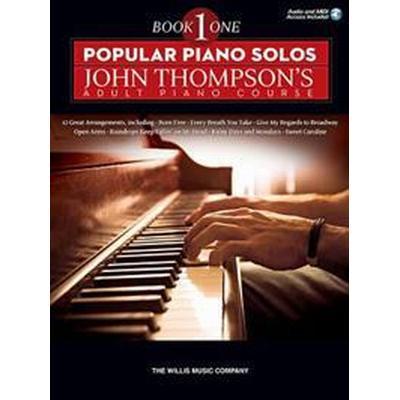 Popular Piano Solos (Häftad, 2015)