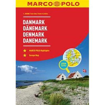 Denmark Marco Polo Road Atlas (Häftad, 2017)