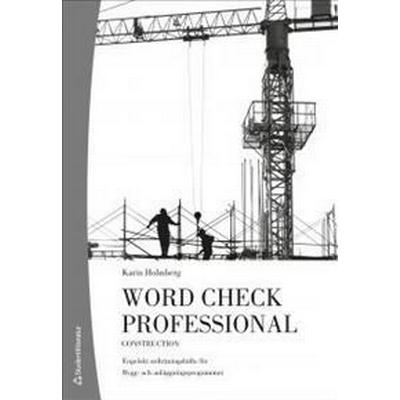 Word Check Professional Building and construction (10-pack) (Häftad, 2013)