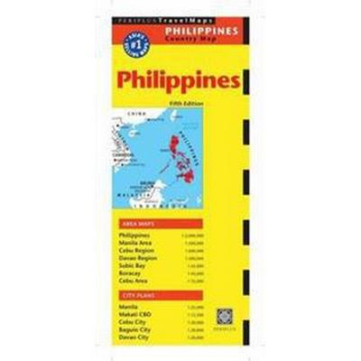 Periplus Travel Maps Philippines (Pocket, 2014)