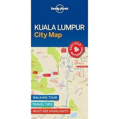 Lonely Planet Kuala Lumpur City Map (Pocket, 2017)