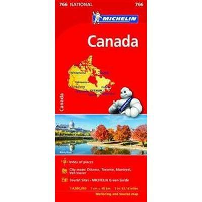 Canada Map 2017 (Karta, Falsad., 2017)