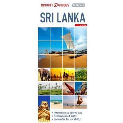 Insight Flexi Map Sri Lanka (Övrigt format, 2017)