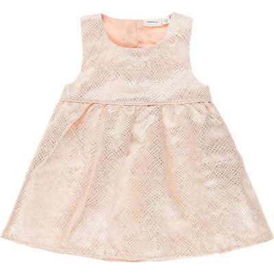 Name It Newborn Glittery Spencer - Pink/Evening Sand (13147191)