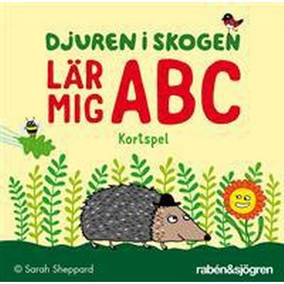 Djuren i skogen lär mig ABC - kortspel (Övrigt format, 2016)