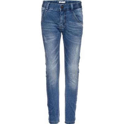 Name It Baggy Sweat Jeans - Blue/Medium Blue Denim (13142218)