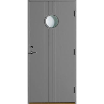 Polardörren Igloo Ytterdörr Klarglas S 6500-N V (90x210cm)