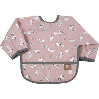 Ng Baby Fairytale Bib with Arms Rose