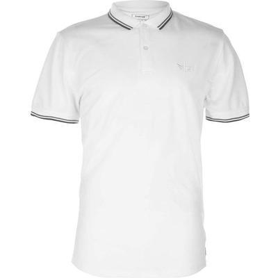 Firetrap Lazer Slim Fit Polo Shirt White (54801401)