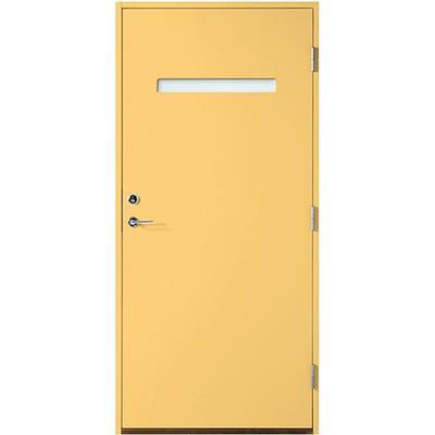 Polardörren Horisont 1 Ytterdörr Klarglas S 1040-Y20R V (90x210cm)