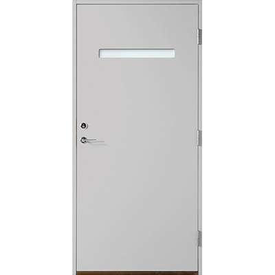 Polardörren Horisont 1 Ytterdörr Klarglas S 3000-N V (90x210cm)