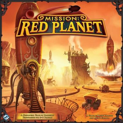 Fantasy Flight Games Mission: Red Planet Second Edition
