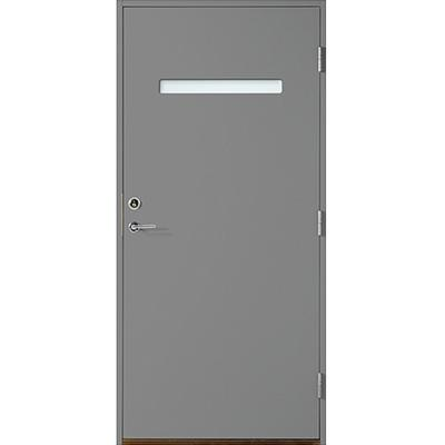 Polardörren Horisont 1 Ytterdörr Klarglas S 6500-N H (90x210cm)