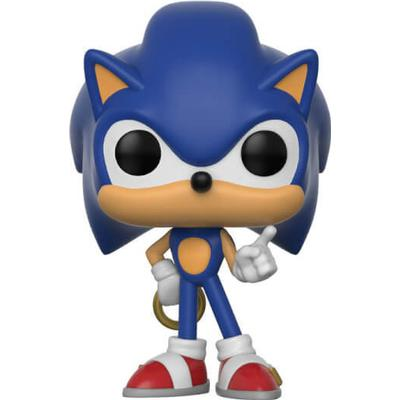 Funko Pop! Games Sonic the Hedgehog Sonic with Ring