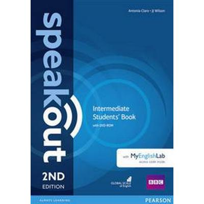 Speakout Intermediate 2nd Edition Students' Book with DVD-ROM and MyEnglishLab Access Code Pack (Övrigt format, 2016)