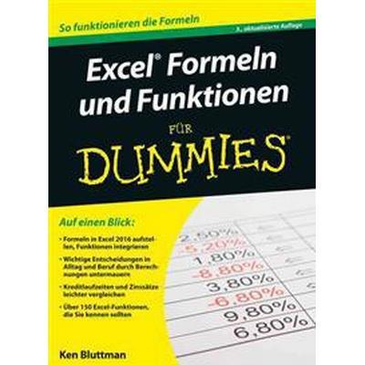 Excel Formeln und Funktionen Fur Dummies (Häftad, 2016)