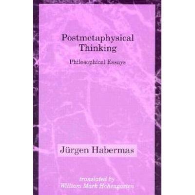Postmetaphysical Thinking: Obscenity and the Origins of Modernity (Häftad, 1994)