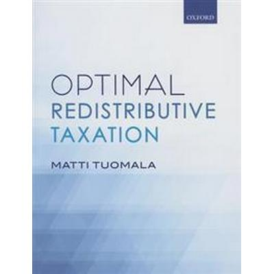 Optimal Redistributive Taxation (Inbunden, 2016)
