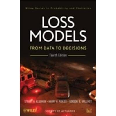 Loss Models: From Data to Decisions, 4e + Solutions Manual Set (Inbunden, 2012)