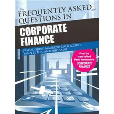 Frequently Asked Questions in Corporate Finance (Häftad, 2011)