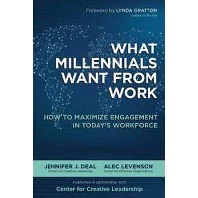 What Millennials Want from Work (Inbunden, 2016)