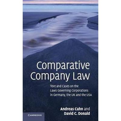 Comparative Company Law (Inbunden, 2010)