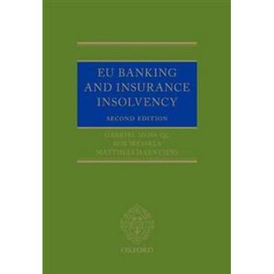 Eu Banking and Insurance Insolvency (Inbunden, 2017)