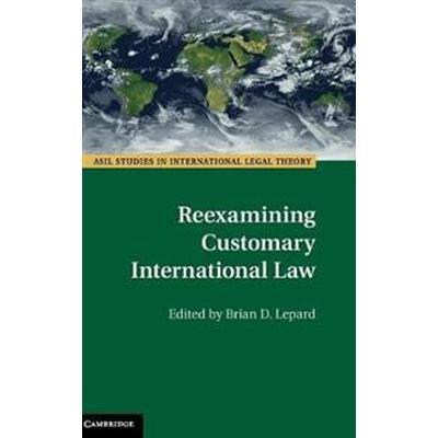 Reexamining Customary International Law (Inbunden, 2017)