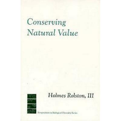 Conserving Natural Value (Pocket, 1994)