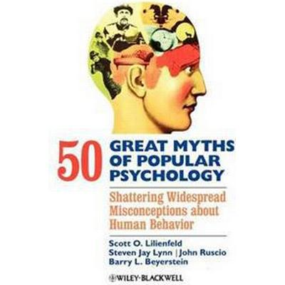 50 Great Myths Psychology (Inbunden, 2009)