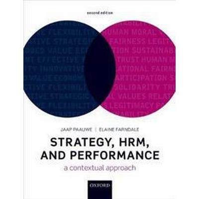 Strategy, Hrm, and Performance (Inbunden, 2018)