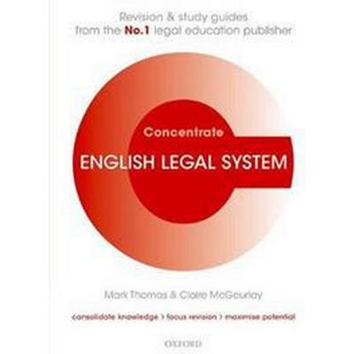 English Legal System Concentrate (Häftad, 2017)