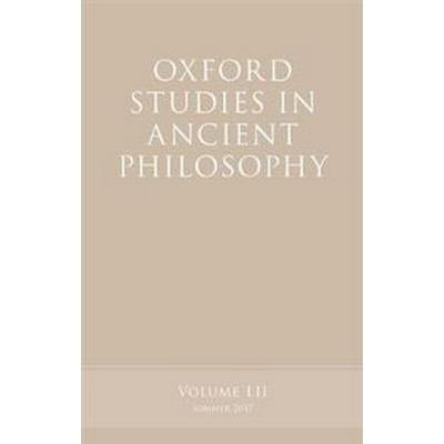 Oxford Studies in Ancient Philosophy (Pocket, 2017)