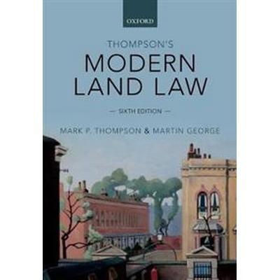 Thompson's Modern Land Law (Häftad, 2017)