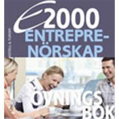 E2000 Entreprenörskap Övningsbok Hotell- och turismprogrammet (Häftad, 2012)