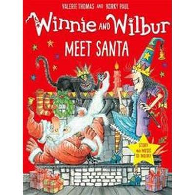 Winnie and Wilbur Meet Santa with audio CD (Övrigt format, 2017)
