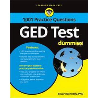 1,001 GED Practice Questions for Dummies (Häftad, 2017)
