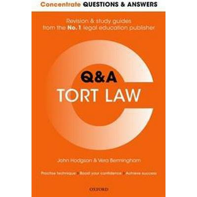 Concentrate Questions and Answers Tort Law (Pocket, 2017)