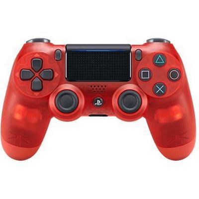 Sony DualShock 4 V2 - Red Crystal (PlayStation 4)