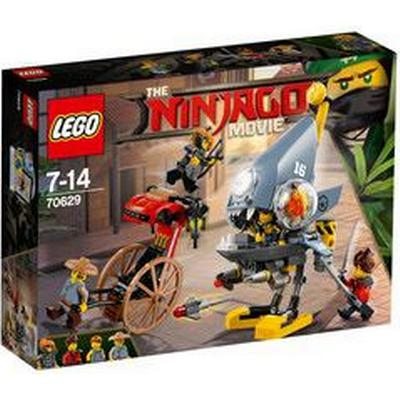 Lego The Ninjago Movie Piranha Attack 70629
