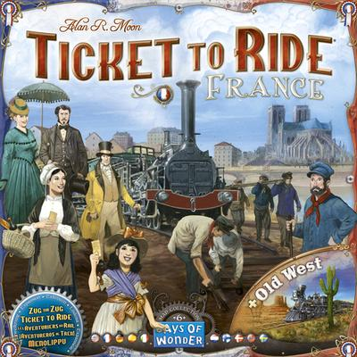 Days of Wonder Ticket to Ride: France & Old West
