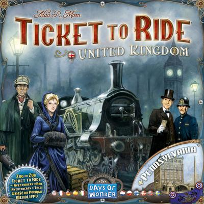 Ticket to Ride: United Kingdom & Pennsylvania Resespel