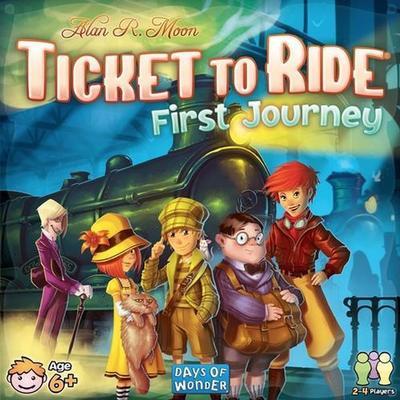 Days of Wonder Ticket to Ride: First Journey U.S.