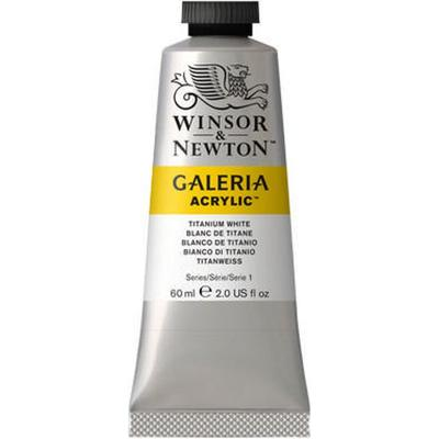 Winsor & Newton Galeria Acrylic Titanium White 644 60ml