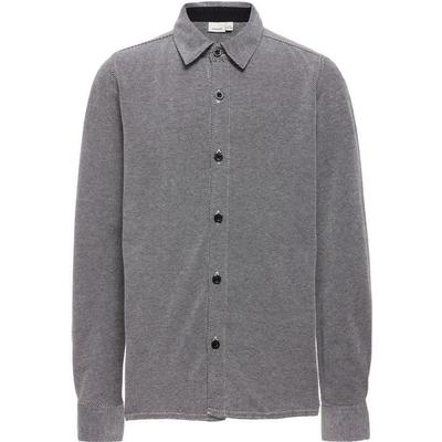 Name It Longsleeved Jersey Shirt - Grey/Dark Grey Melange (13145948)