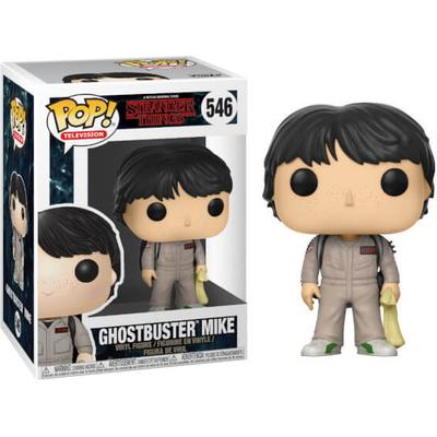 Funko Pop! TV Stranger Things Ghostbusters Mike