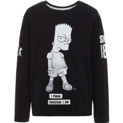 Name It Simpsons Long Sleeved Top - Black/Black (13147468)