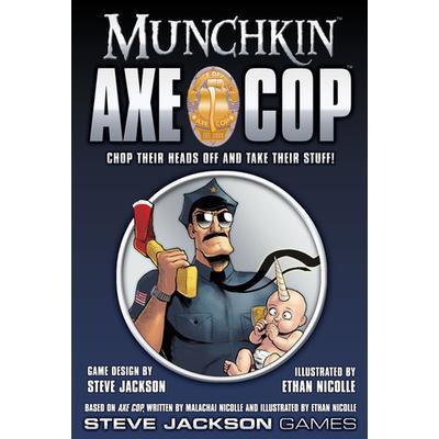 Steve Jackson Games Munchkin: Axe Cop