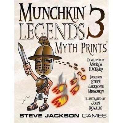 Steve Jackson Games Munchkin Legends 3: Myth Prints (Engelska)